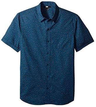 Paige Men's Becker Short Sleeve Button Down Printed Shirt
