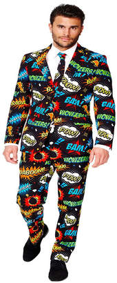 OppoSuits Men Badaboom Comics Suit