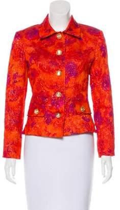 Dolce & Gabbana Printed Button-Up Jacket