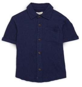 Appaman Little Boy's & Boy's Beach Button-Down Shirt