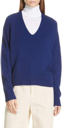 Vince Deep V-Neck Cashmere Sweater