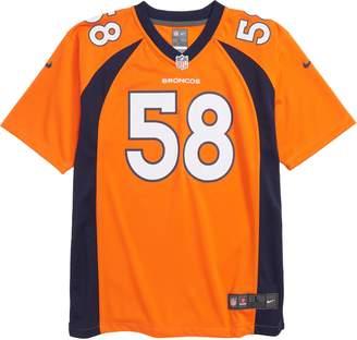 Nike NFL Logo Denver Broncos Von Miller Jersey