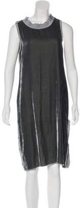 Nili Lotan Sleeveless Velour Dress