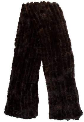 La Fiorentina Knit Mink Cape