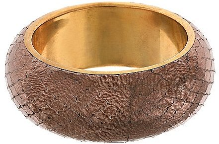 Metallic Bronze Bangle Bracelet