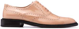 Fratelli Rossetti Nude Patent Lace-up