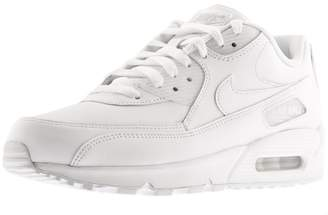 Nike 90 Leather Trainers White
