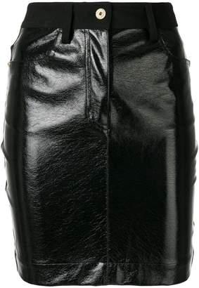 Just Cavalli panelled skirt