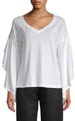 Robert Rodriguez V-Neck Cotton Top