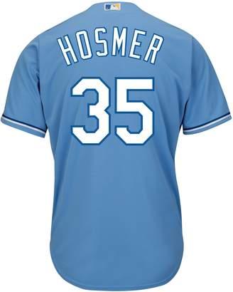 Majestic Men's Kansas City Royals Eric Hosmer 2015 World Series Champions Replica MLB Jersey