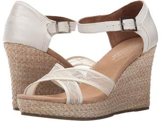 Toms Wedding Wedge Women's Wedge Shoes