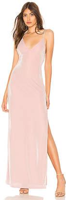 About Us Lola High Slit Maxi Dress
