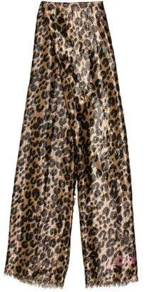 Louis Vuitton Lurex Leopard Stole