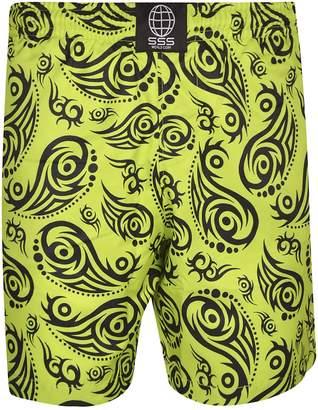 877684287f Tribal Print Shorts Men - ShopStyle