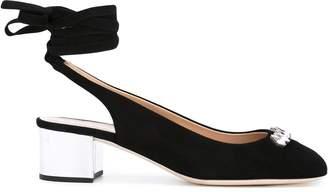 Giuseppe Zanotti jewelled lace-up sandals