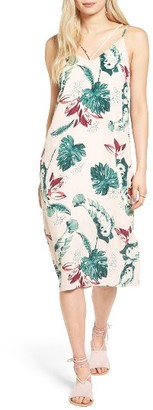 Women's Lush Floral Strappy Slipdress $49 thestylecure.com
