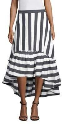 Trina Turk Rosamund 2 Striped Flared Skirt