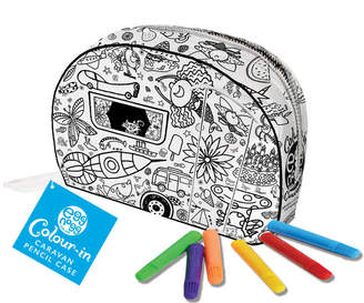 Eggnogg Ltd Colour In Caravan Pencil Case