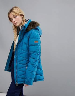 Roxy Quinn Jacket In Blue