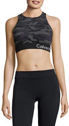 Calvin Klein Camouflage Sports Bra
