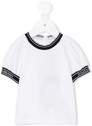 Dolce & Gabbana puffed sleeve top