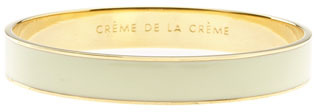 Kate Spade New York 'idiom - An Ace Up Your Sleeve' Bangle