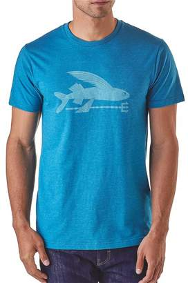 Patagonia Men's Flying Fish Organic Cotton/Poly T-Shirt