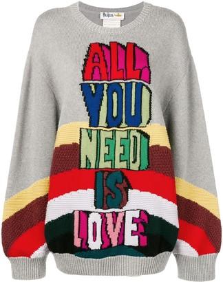 Stella McCartney slogan sweater