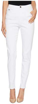 FDJ French Dressing Jeans Sunset Hues Suzanne Slim Leg in White Women's Jeans