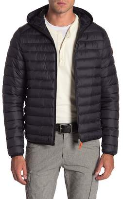 Save The Duck Quilted Hooded Jacket