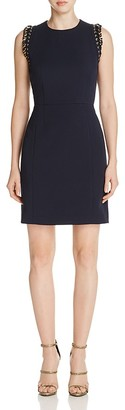 MICHAEL Michael Kors Chain-Accent A-Line Dress $225 thestylecure.com