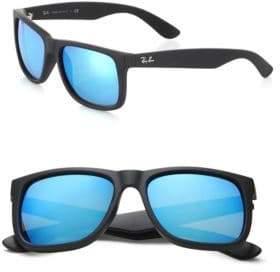 Ray-Ban Boyfriend Mirrored Wayfarer Sunglasses