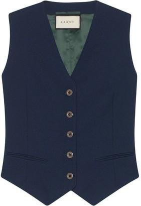 Gucci tailored waistcoat