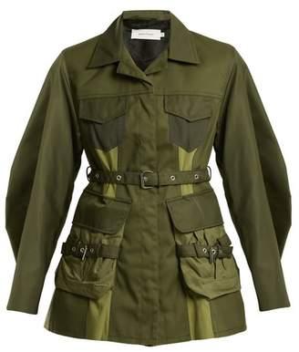 Marques Almeida Marques'almeida - Cargo Pocket Military Jacket - Womens - Khaki