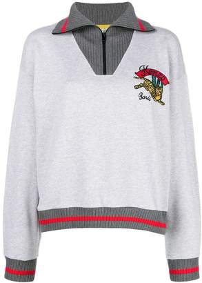Kenzo Bamboo Tiger zip-up sweatshirt
