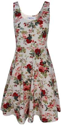 Toms Tom's Ware Womens Casual Fit and Flare Floral Sleeveless Dress TWCWD054-US XL