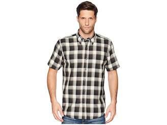 Pendleton Linen Short Sleeve Button Down Collar Shirt Men's Clothing