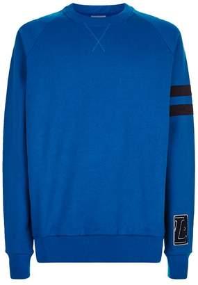 Lanvin Stripe Sleeve Sweatshirt