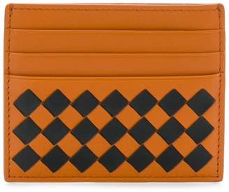 Bottega Veneta woven texture card holder