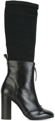 Diesel layered boots $334.80 thestylecure.com