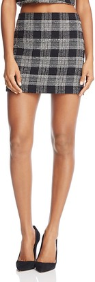 Alice + Olivia Elana Mini Skirt $195 thestylecure.com