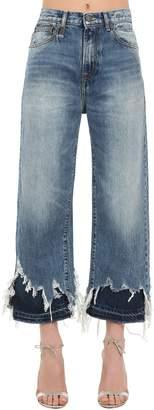 R 13 Camille Distressed Denim Jeans