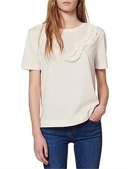 Sandro Paris Ludivine Knitted T Shirt