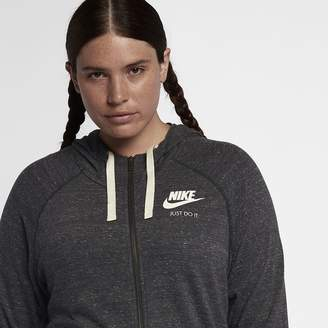 Nike Sportswear Gym Vintage (Plus Size) Women's Full-Zip Hoodie