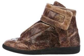 Maison Margiela Distressed Leather Future Sneakers