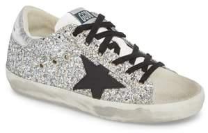 Golden Goose Glitter Superstar Lace-Up Sneaker
