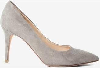 Dorothy Perkins Womens Grey New Lower Heel 'Electra' Court Shoes