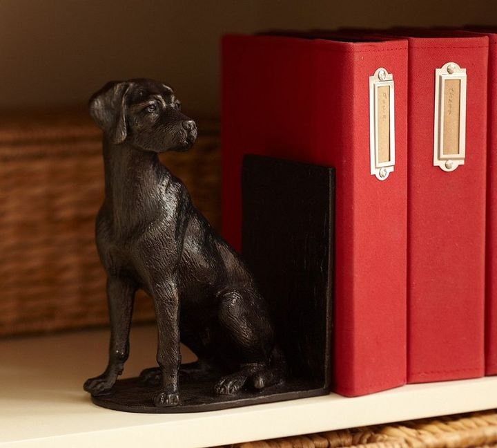 Dog Bookend, Set of 2