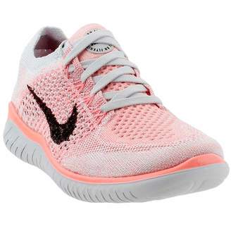Nike Women's Free Rn Flyknit 2018 Crimson Pulse/Sail Ankle-High Running Shoe - 9M