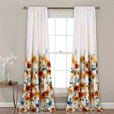 Wayfair Olivarez Room Darkening Rod Pocket Curtain Panels